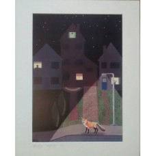 Night Life by Abi Burlingham  - Signed Limited edition print