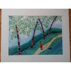 The Walk by Abi Burlingham  - Signed Limited edition print
