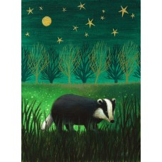 'Night Badger' by Antoinette Kelly
