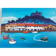 St Michaels Mount Blues by Chris Martin