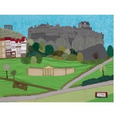 Edinburgh Castle by Jackie Gale - Limited edition print