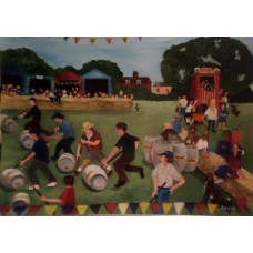 Westleton Barrel Fair by Jennifer Raison