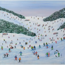 Ski Whizz by Judy Joel - signed limited edition print