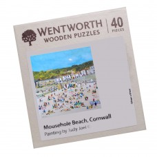 'Mousehole Beach' micro Jigsaws Puzzle by Judy Joel