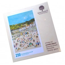 'Mousehole Beach Cornwall' Jigsaws Puzzle by Judy Joel