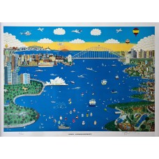 Limited edition Print 'Sydney - Australia's Super City'