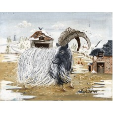 A Bagot Goat by Noel Barker - limited edition print