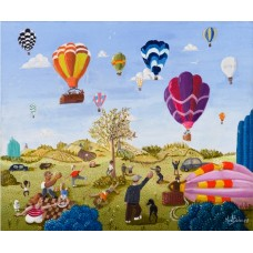 Balloon Festival by Noel Barker - limited edition print