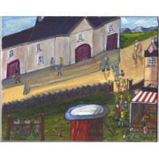 Going to the fair in the village by Orla Egan