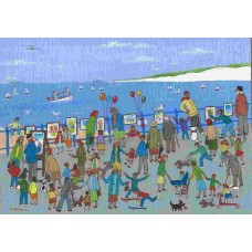 'Art Show on the Promenade' by Pat Bowley