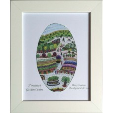Homeleigh Garden Centre by Penny McInnes - Non-limited edition Framed print