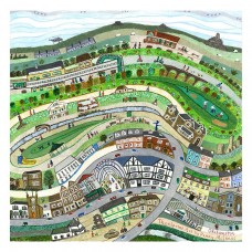 Okehampton by Penny McInnes - Non-limited edition print - unframed
