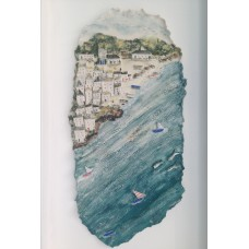 'Incoming Tide' by Julie Harper - 3D painted porcelain picture